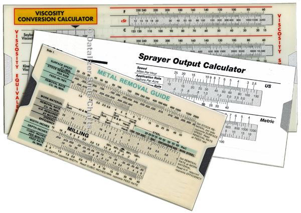 Plastic Slide Rule Calculators