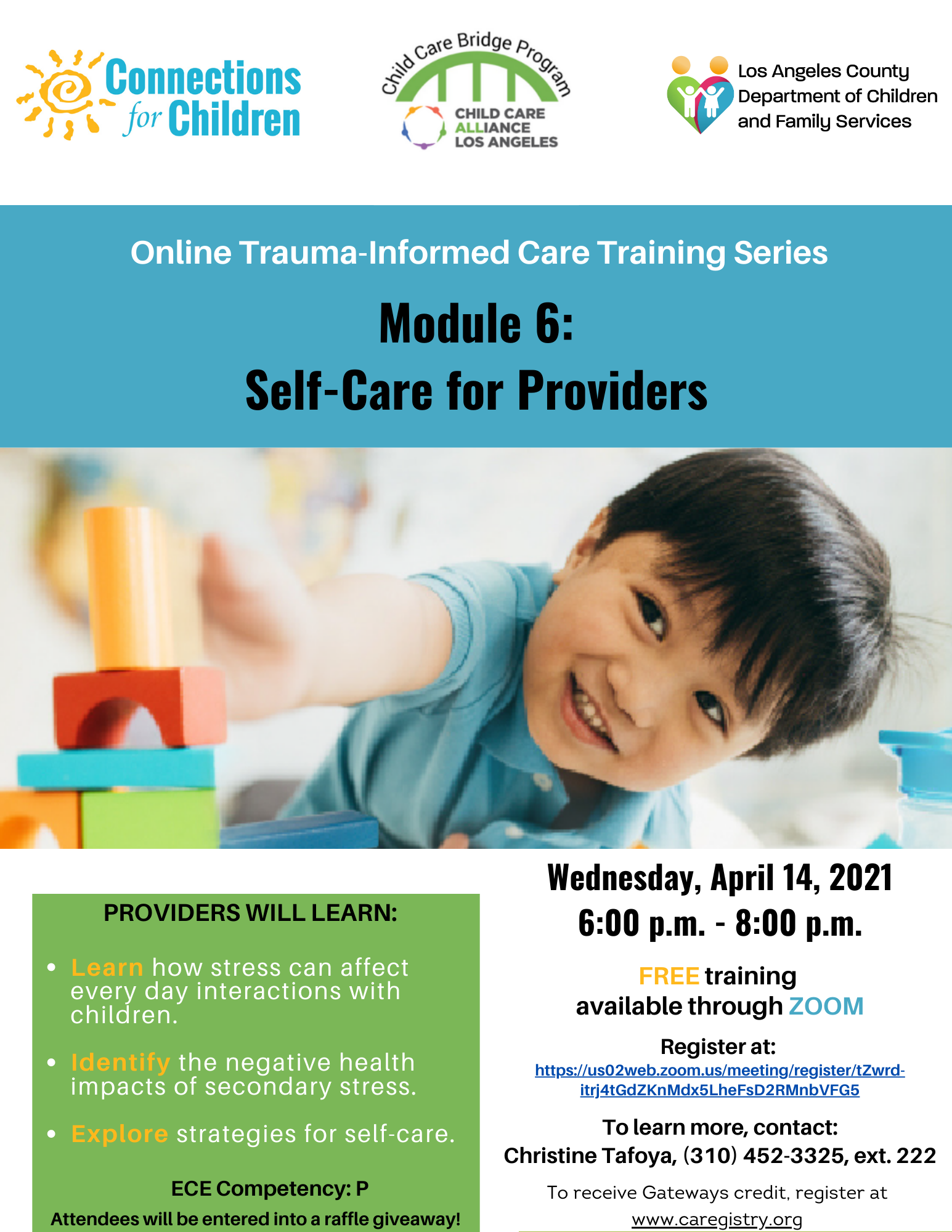 Self-Care for Providers