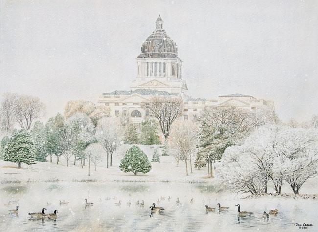 """Jon Crane - """"South Dakota Legacy"""" Mini Print"""