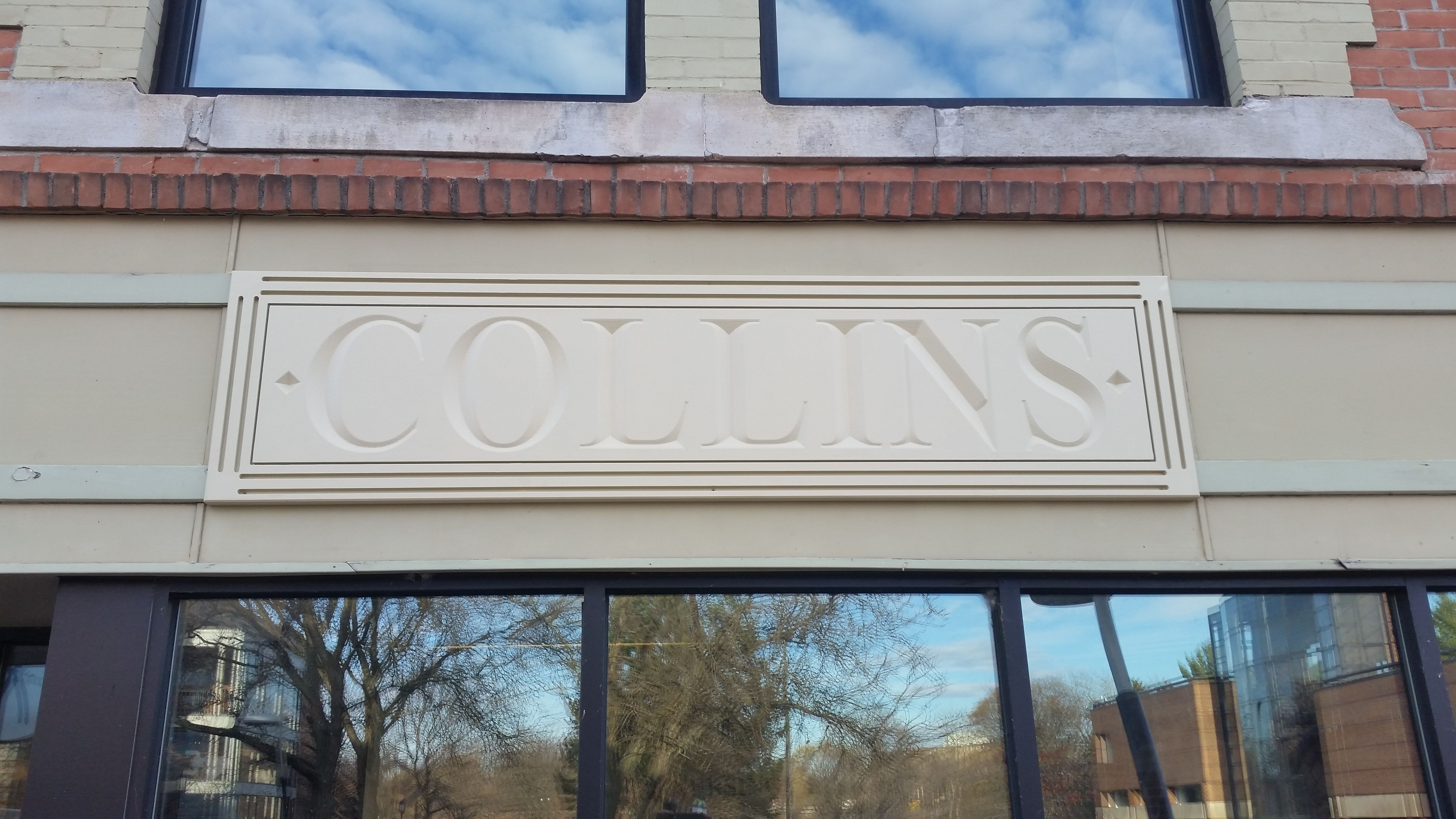 Retro Style CNC Routed Sign