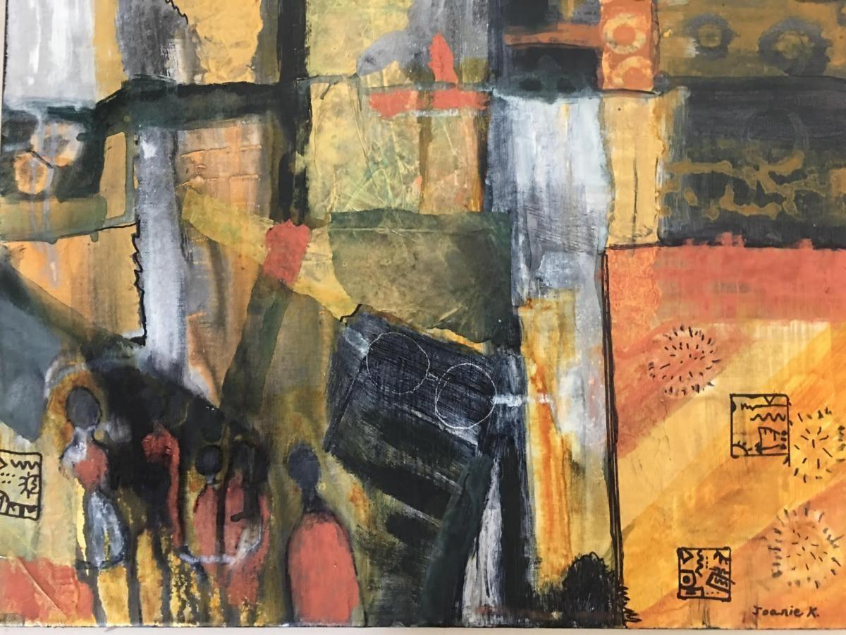 """""""Needing Social Distance"""" by Joanie Kaufman"""