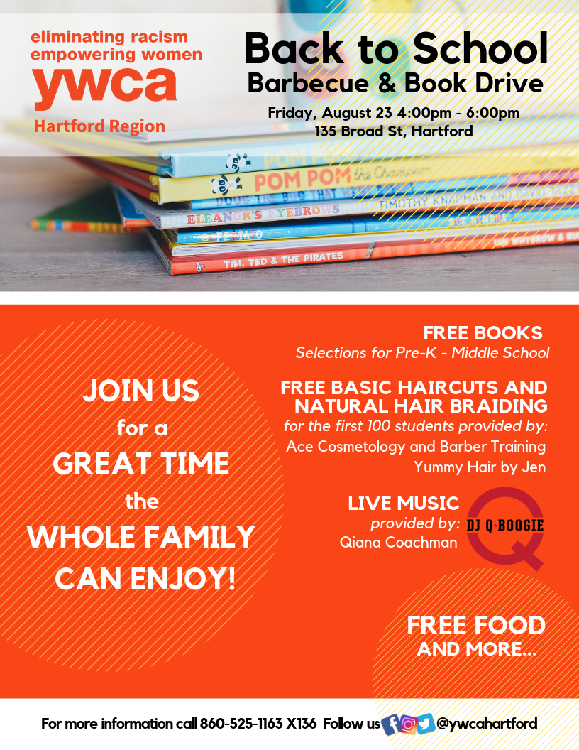 Back to School Barbeque and Book Drive