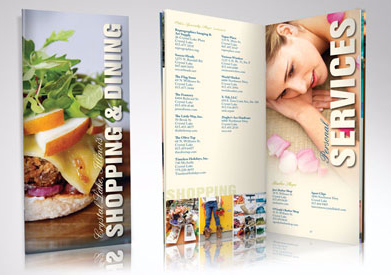 Brochures, Booklets and Sales Sheets