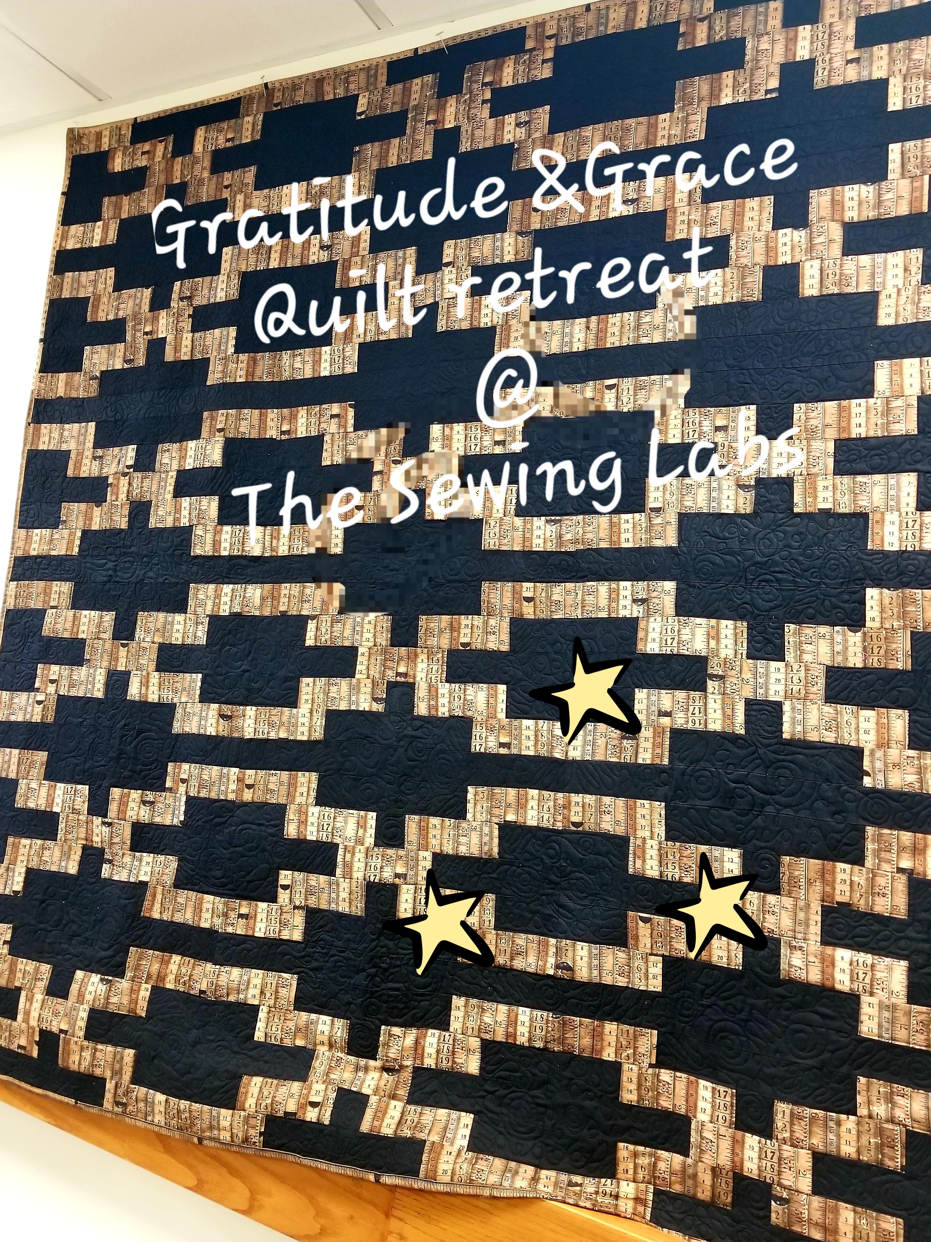 Gratitude & Grace Quilting Retreat