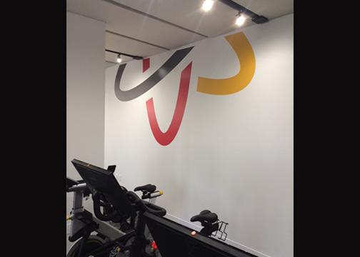 Gym Wallscape Logo Graphics