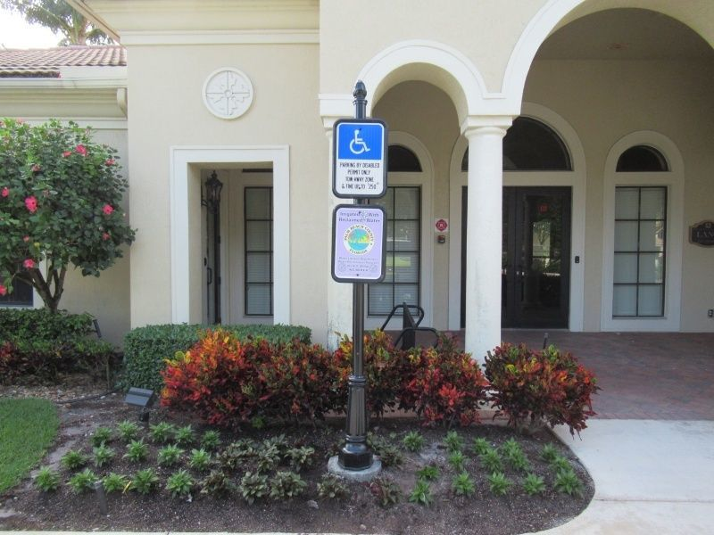 Decorative Street Signs Delray Beach - Parking Signs - Sign Partners