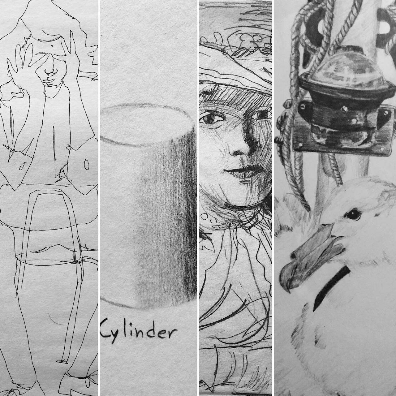 Beginning-Intermediate Drawing Class Series