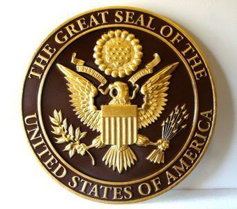ME5010 - Great Seal of the United States, 3-D