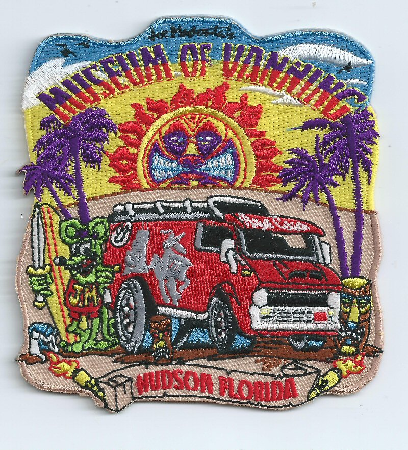 Museum Collectible Logo Patch