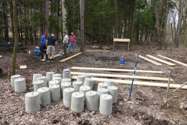 5.) Bullfrog Eagle Scout Project