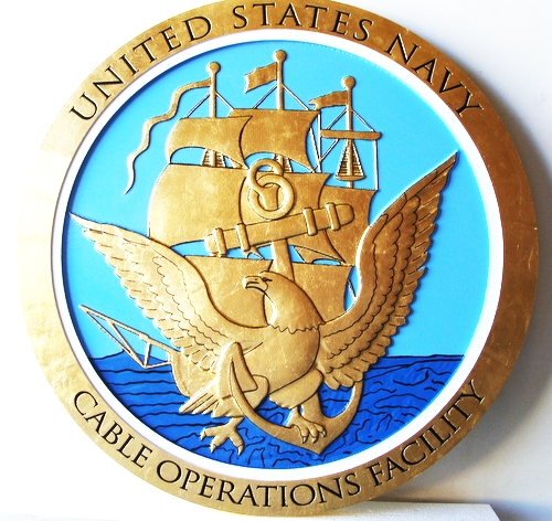 ME5090 -  Seal of the US Navy, 3-D