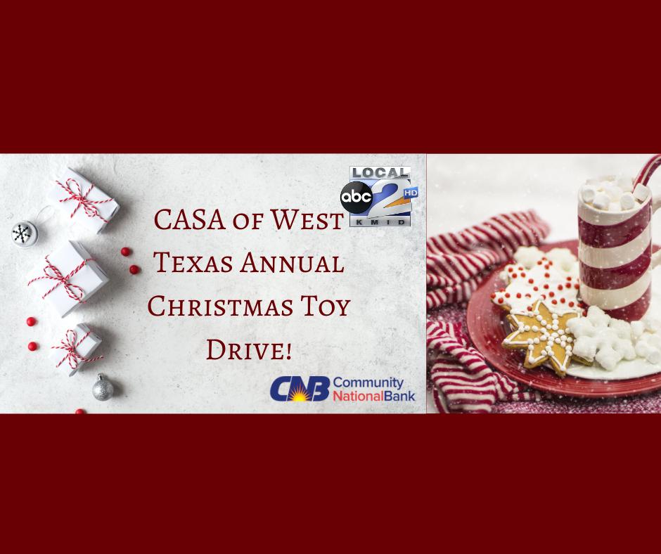 Annual CASA Toy Drive!
