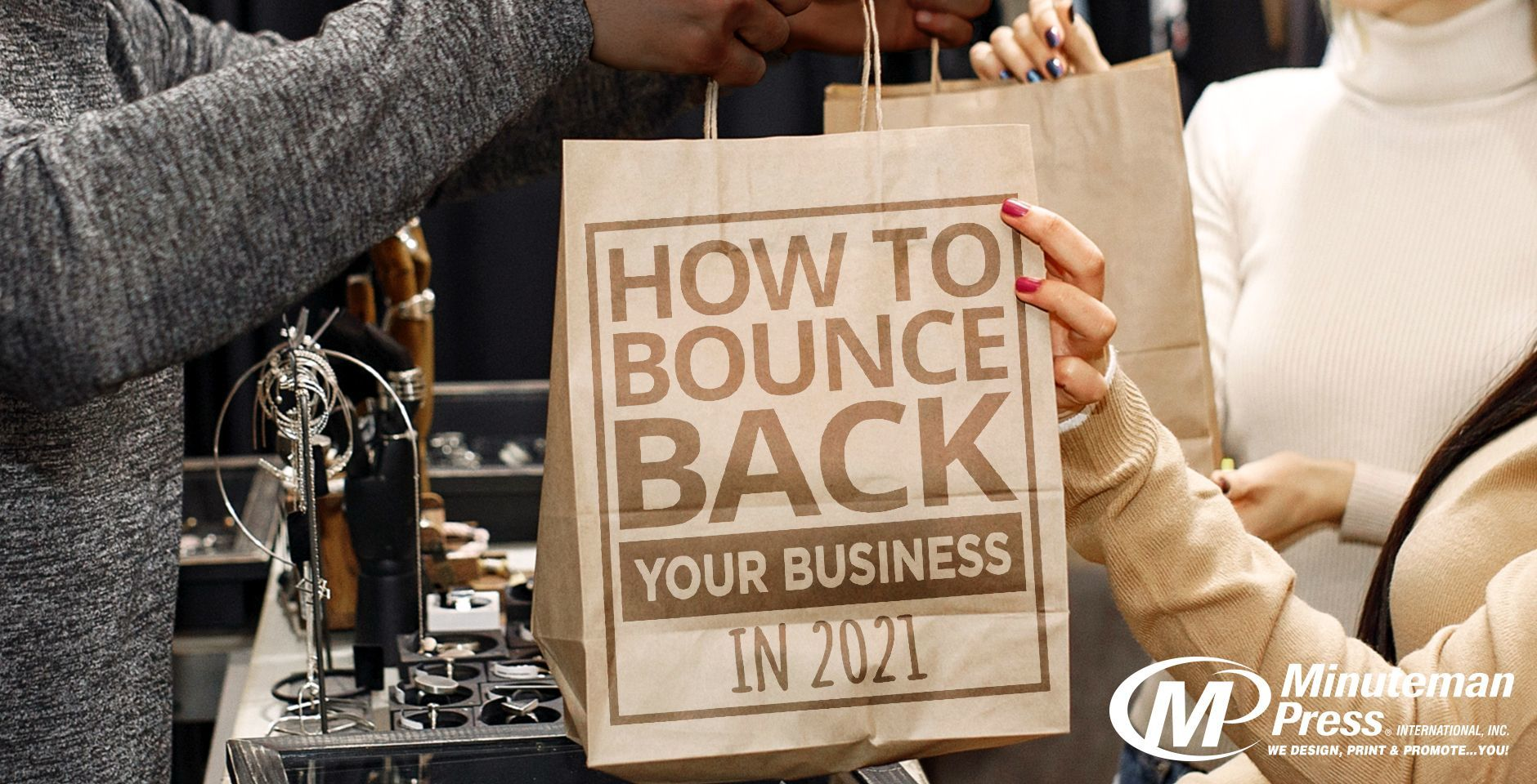 Free Marketing EBook: How to Bounce Back Your Business in 2021