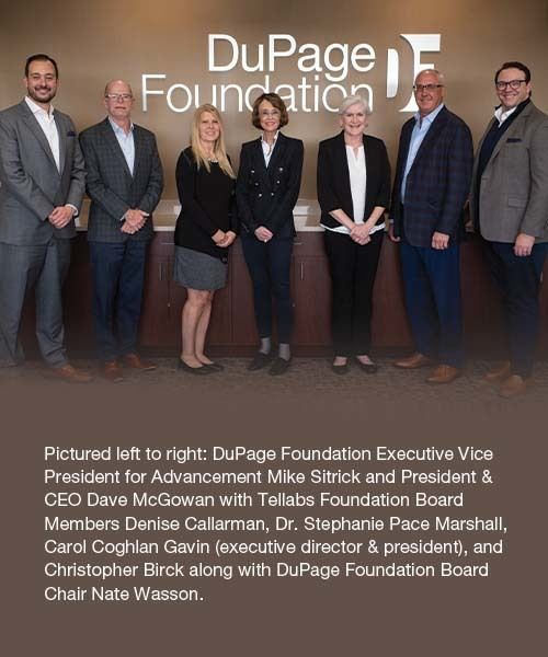 Tellabs Foundation Cements Its Legacy With Transfer to DuPage Foundation