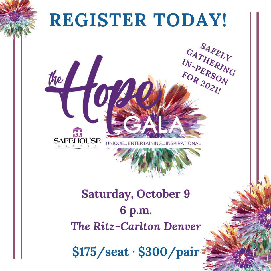 Register Now To Inspire Hope