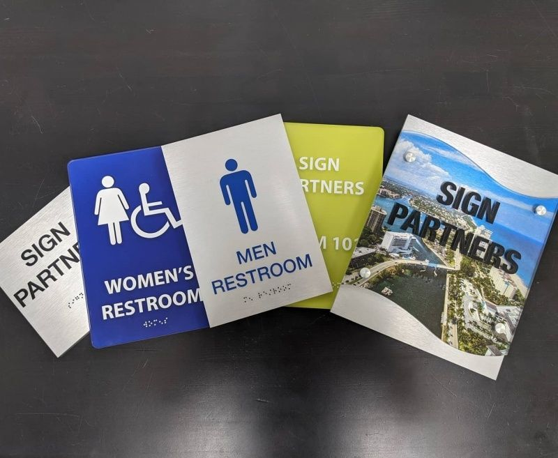 ADA Room Signs - Sign Partners - Sign Company Melbourne FL