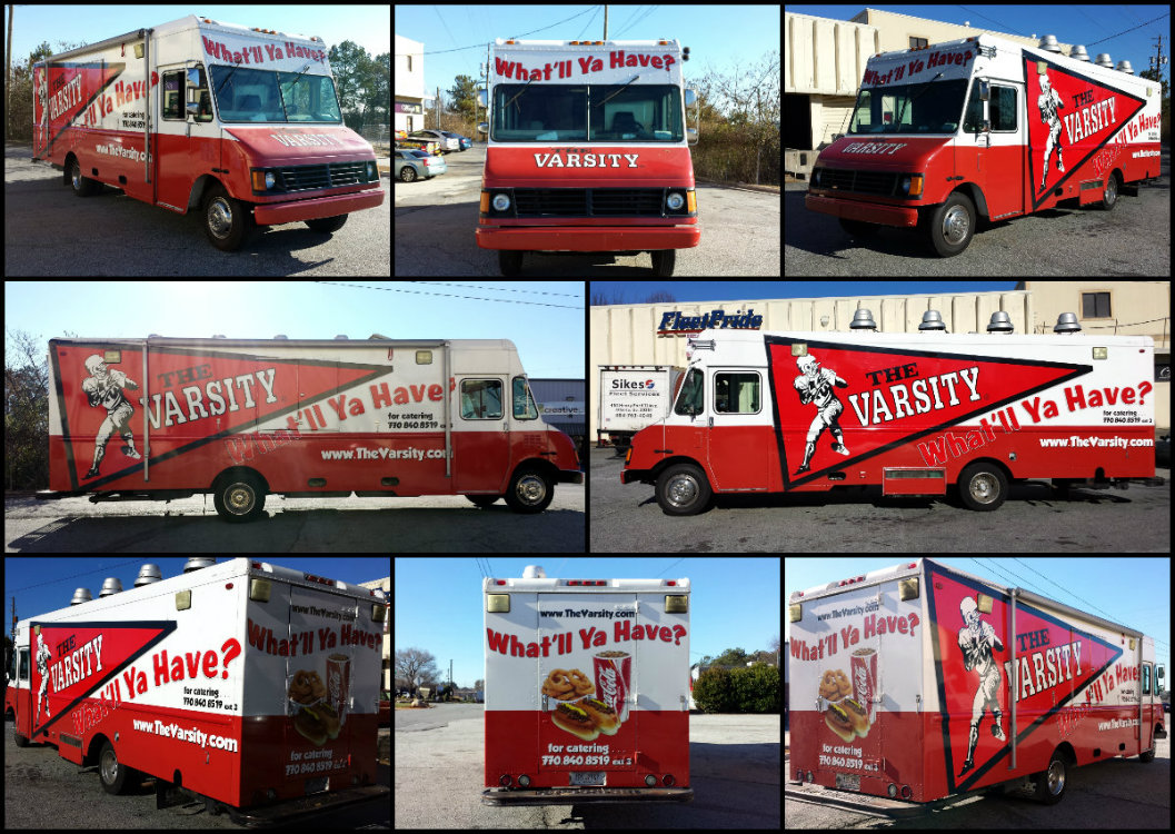 Large Varsity Food Truck