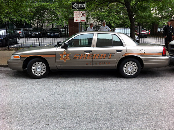 St. Louis Sheriffs Car 1
