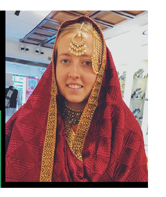 Kate Garrity - IFYE Participant - India