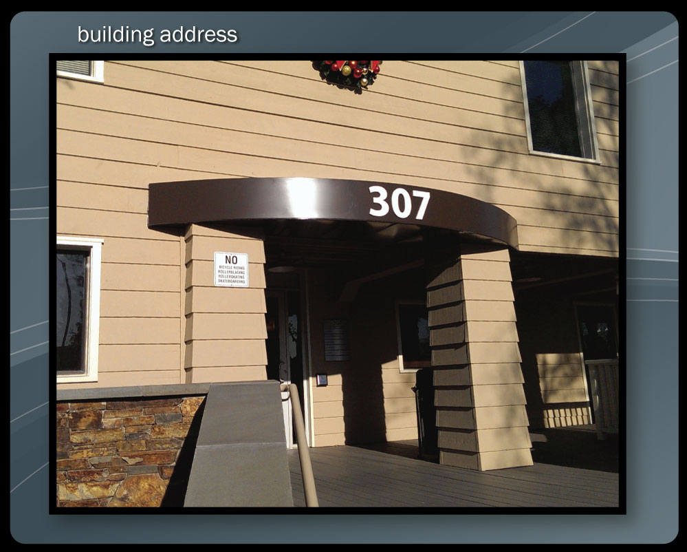 BUILDING ADDRESS
