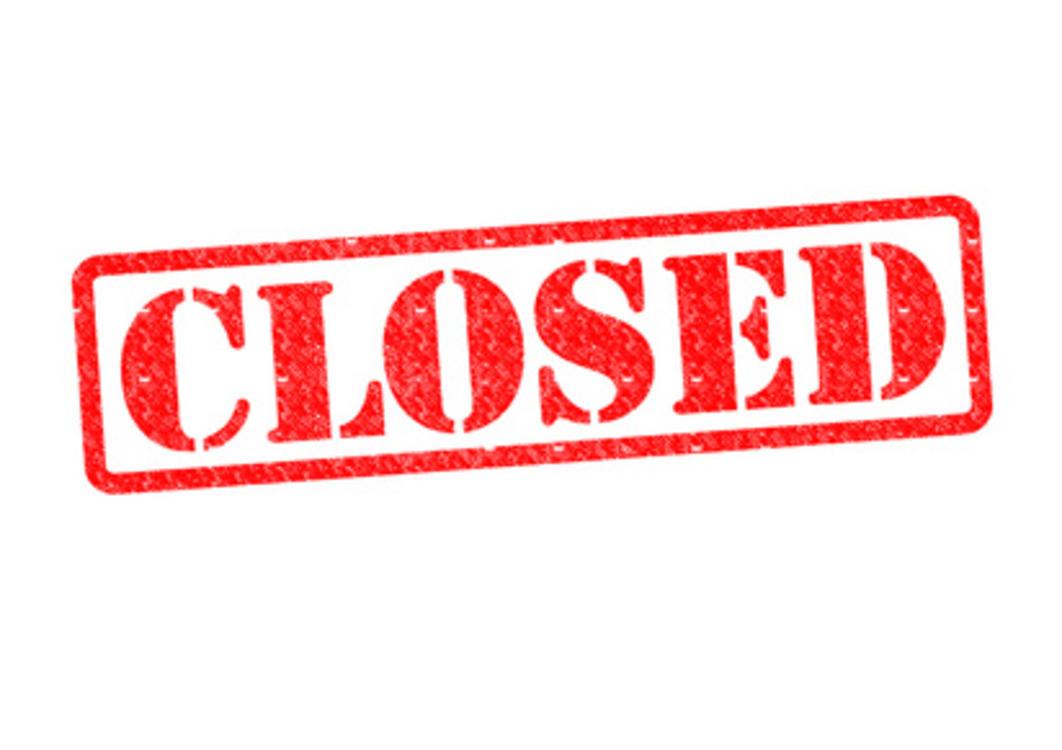 North Entrance Closed