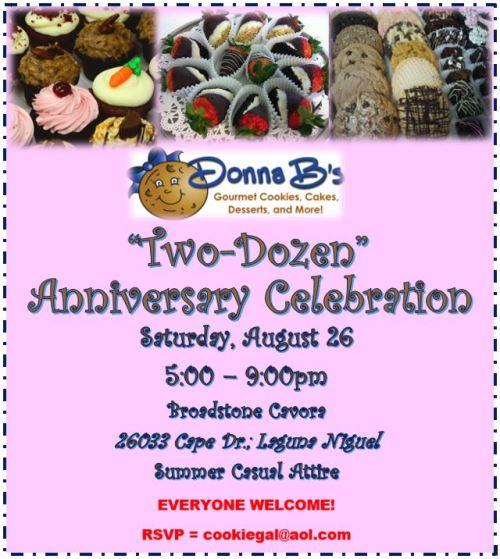 """Donna B's """"2 Dozen"""" Anniversary Celebration"""