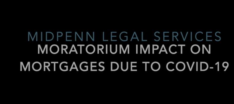 Moratorium Impact on Mortgage Due to COVID-19