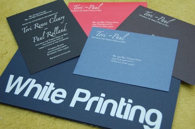White Ink Printing