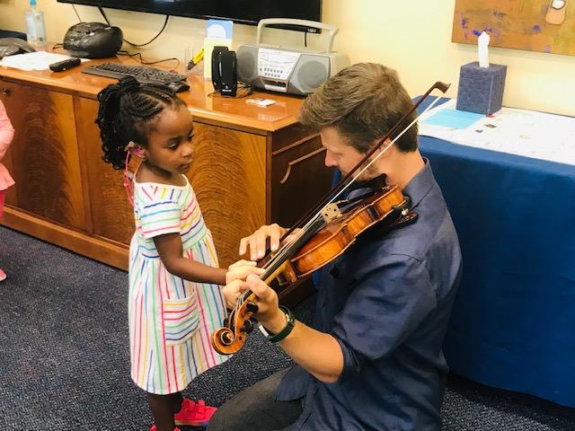 IRIS Orchestra Combines Literacy & Listening