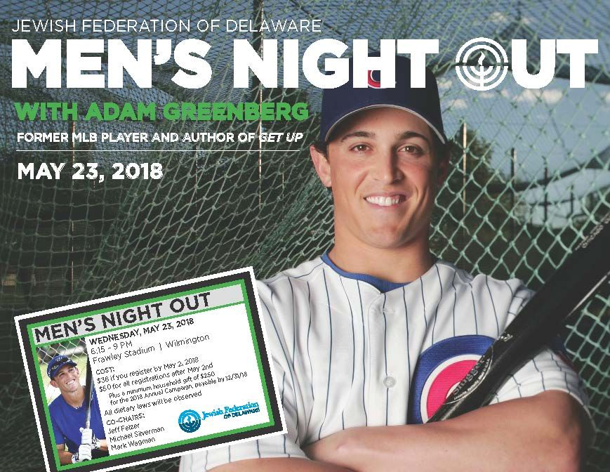 Men's Night Out - Featuring Adam Greenberg