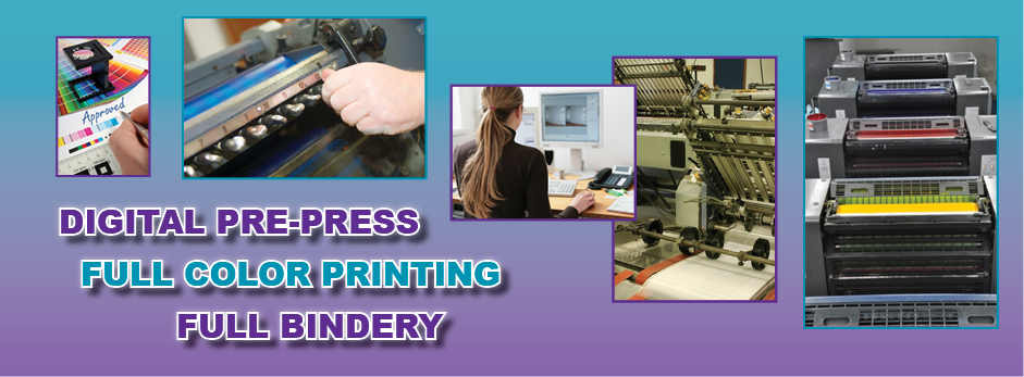 Digital Pre-Press | Full Color Printing | Bindery