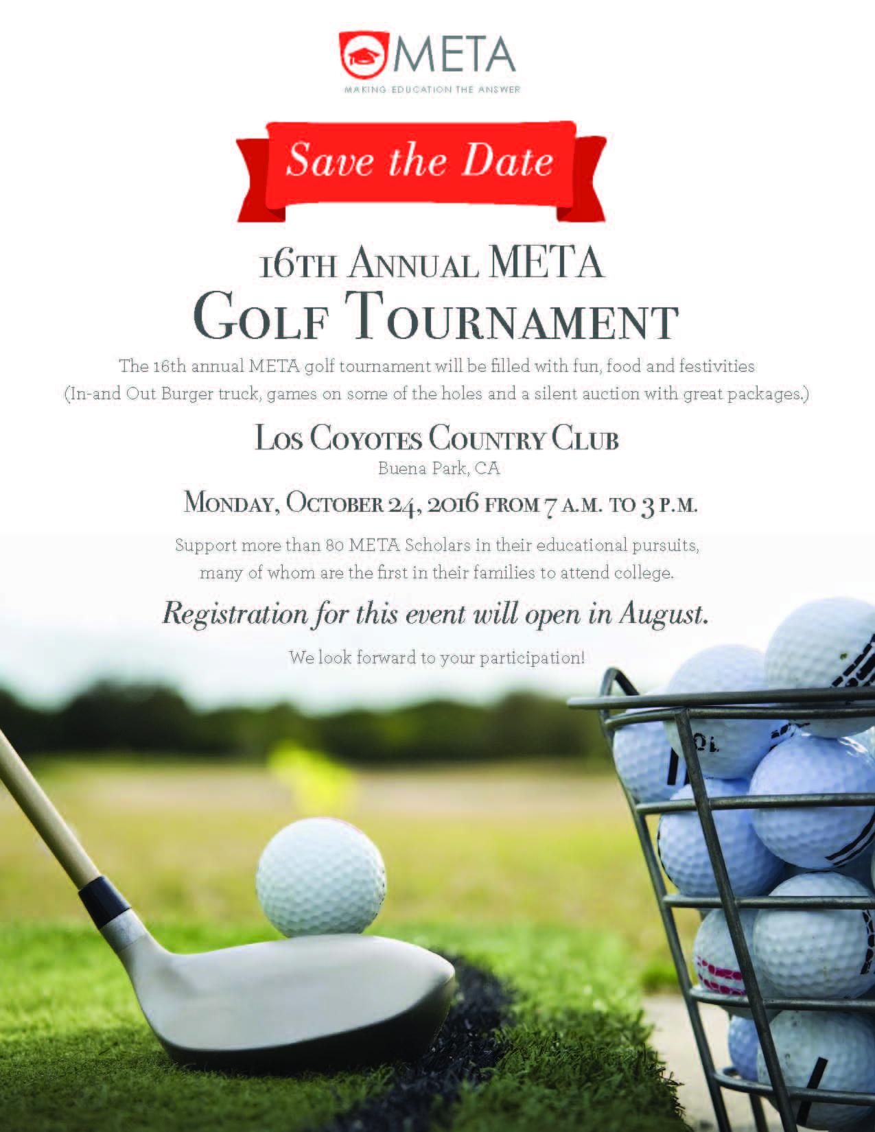 META Golf Tournament