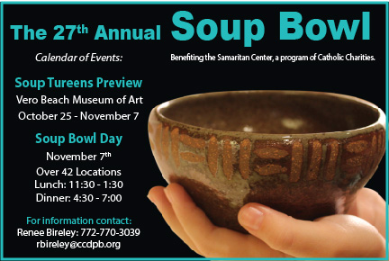 Soup's On! – Samaritan Center's 27th Annual Soup Bowl Event