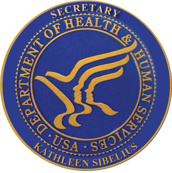 U30231 - Department of Health & Human Services Personalized Carved Wall Plaque