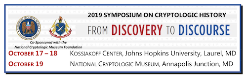2019 Symposium on Cryptologic History