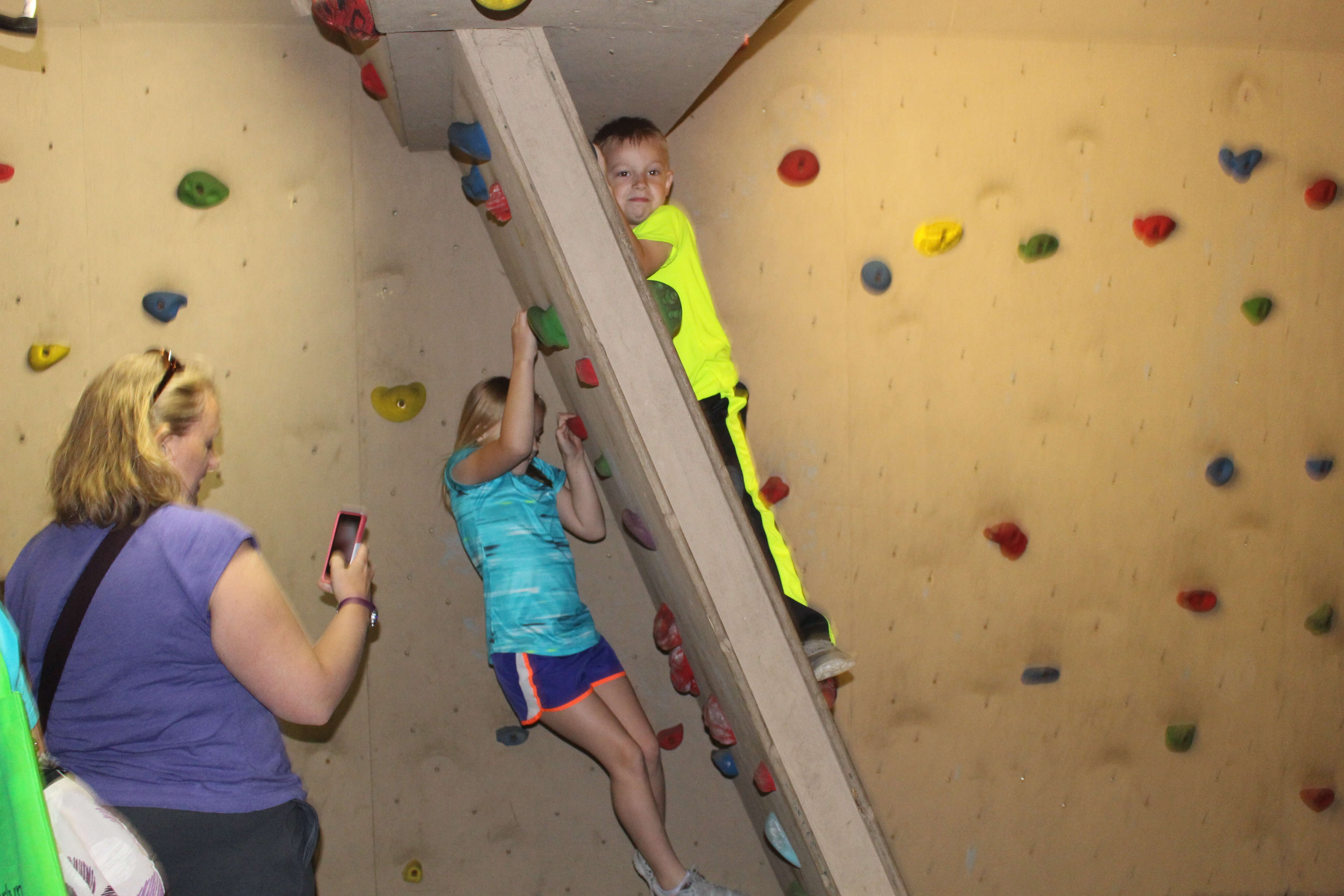 The Bouldering Room
