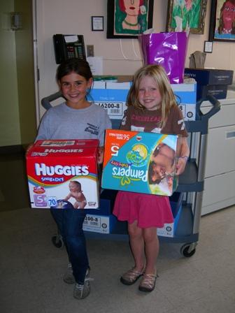supply drive volunteers