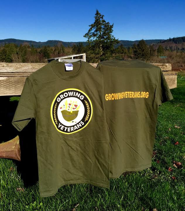 Growing Veterans T-Shirt
