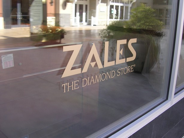 Zales Storefront Windows
