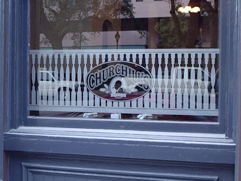 Churchhill's Window