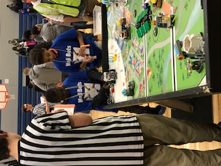 The Faxon Robotics 5th and 6th grade teams went to the first Lego League competition in Independence on Saturday, December 2nd.
