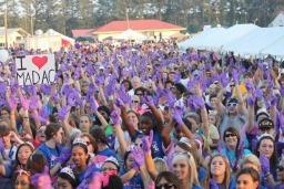 Purple Glove Dance