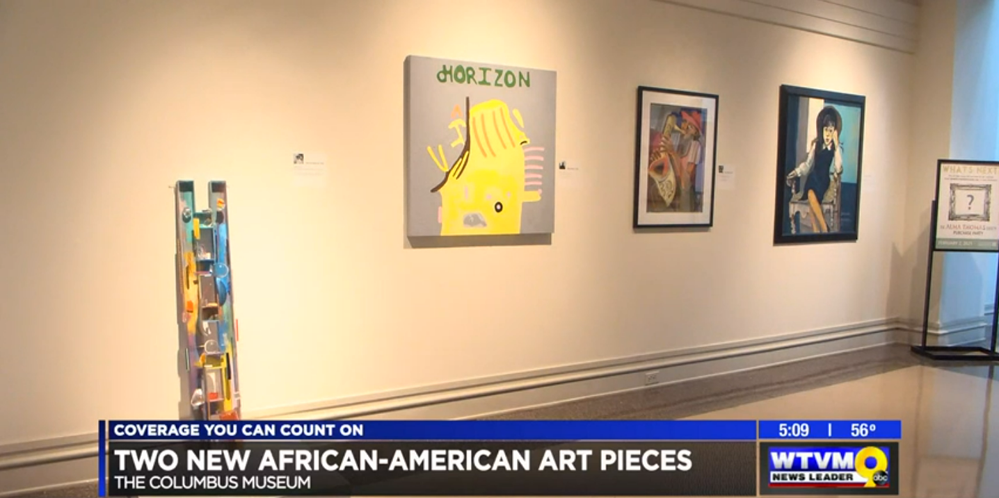 Columbus Museum Acquires Two New African American Art Pieces