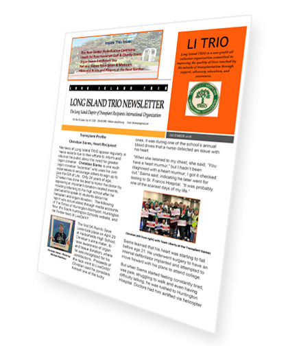 Custom Newsletter That Is Printed Monthly