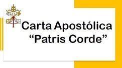 "Carta Apostolica ""Patris Corde"""