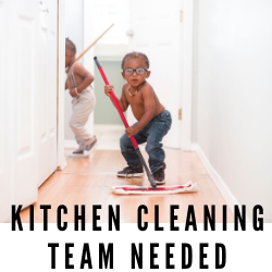 "Volunteer ""Clean Team"" Needed"