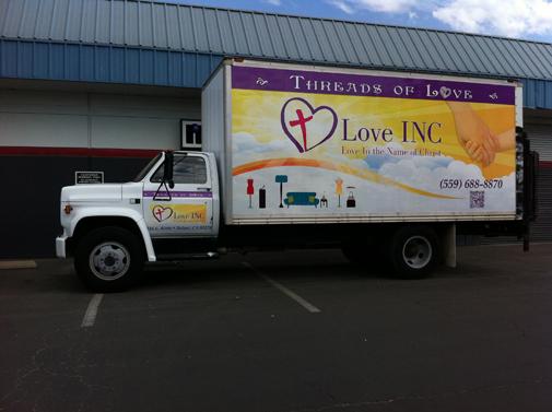 Love INC GMC Box Truck