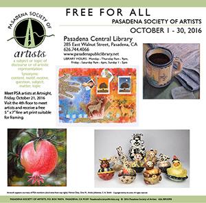 Pasadena Central Library Exhibition