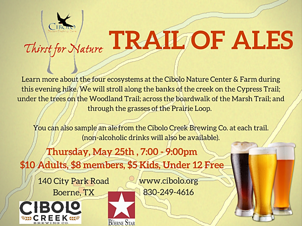 CNC: a Thirst for Nature event: Trail of Ales