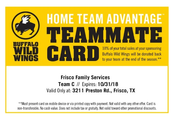 Buffalo Wild Wings Gives Back